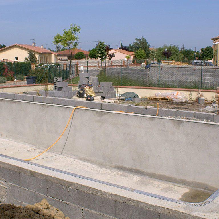 construction de piscine près de Clermont-l'Hérault